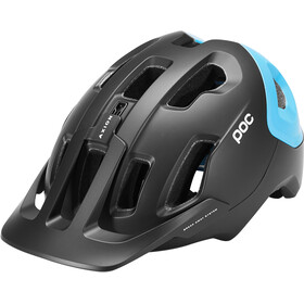 POC Axion Spin Helm, uranium black/basalt blue matt